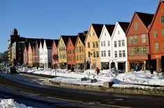 Winter in Bergen Norway