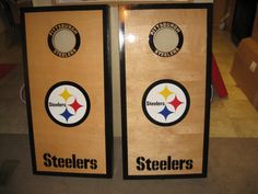 Pittsburgh Steelers Cornhole Boards and bags by lawnman2880, $185.00
