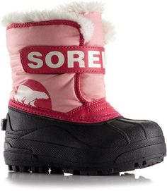 Sorel Snow Commander Boots - Pink Pink/Bright Rose 6T