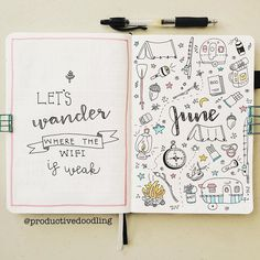 Doodles are a fantastic way to take your bullet journal to the next level! Here are 50 bullet journal doodle tutorials and ideas to help you get started! Bullet Journal Doodles, Bullet Journal June, Bullet Journal Cover Page, Bullet Journal Writing, Journal Fonts, Bullet Journal Ideas Pages, Bullet Journal Layout, Journal Covers, Book Journal