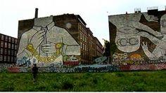 Streetart de Blu à Berlin