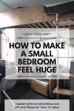 Looking for Space Saving ideas for a small bedroom? Look no further.  Be it  a girls or boys bedroom, young or teenager this is for you. Packed full of cheap DIY projects for those of us on a budget. Along with my top tips on how to make a small bedroom feel huge! #ideasforsmallrooms #smallbedroomideas #teenagerssmallbedroomideas One Bedroom, Bedroom Ideas, Fold Away Desk, Interior Design Inspiration, Design Ideas, Online Interior Design Services, Space Up, Study Areas, Dark Interiors