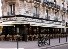 Le Square Trousseau: A perfect terrasse in Paris open all day for breakfast, lunch or dinner. and best hot choc in paris