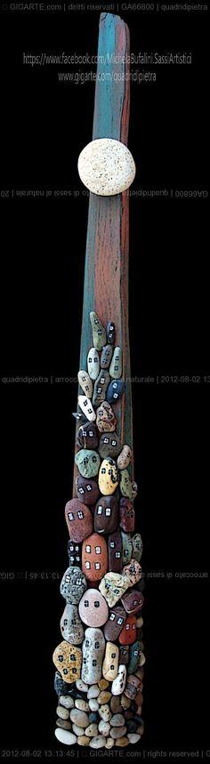 Michela Bufalini - arroccato con sassi al naturale @Gigarte.com