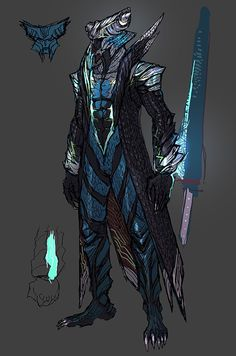 View an image titled 'Vergil Devil Trigger Concept Art' in our Devil May Cry 5 art gallery featuring official character designs, concept art, and promo pictures. Fantasy Character Design, Character Concept, Character Inspiration, Character Art, Concept Art, Devil May Cry 4, Dnd Characters, Fantasy Characters, Nero Dmc