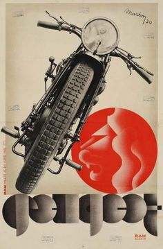 Peugeot poster by Lajos Marton