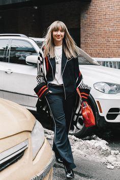 Street Style Nueva York. Febrero 2017