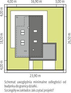 DOM.PL™ - Projekt domu AC Daniel IV G2 CE - DOM AF9-57 - gotowy koszt budowy Village House Design, Village Houses, House Construction Plan, Locker Storage, House Plans, How To Plan, Home Decor, Ideas, Cottage Style Homes