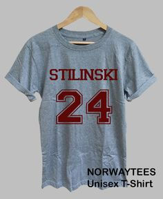 STILINSKI 24 Logo Stiles Stilinski Shirt Number by Norwaytees