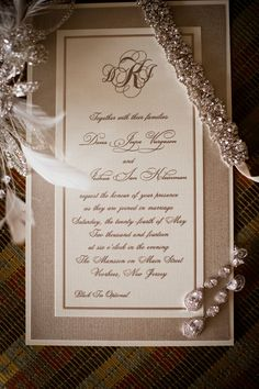 NJ Jewish Wedding Invitations {Joseph Delgado Photography} - mazelmoments.com