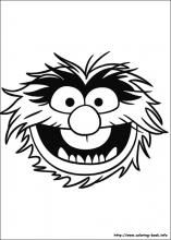 Tanner's request. . .. an Animal coloring sheet :)  The Muppets coloring pages on Coloring-Book.info