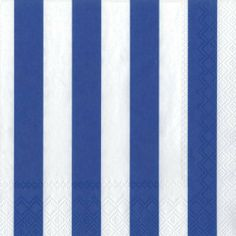 Ideal Home Range 3-Ply Paper Lunch Napkins, Dark Blue and White Big Stripes, 20-Count (Pack of 2) by Ideal Home Range. Save 28 Off!. $8.79. Made in Germany with paper from manageable forests and soy based ink. Quality 3-ply napkins are soft and strong, printed with water based colours on oxygen bleached cellulose. Napkins have wide dark blue and white stripes. Package of 20 paper napkins to add color and convenience to entertaining family or friends. Luncheon Napkins are 6.5-inches square…