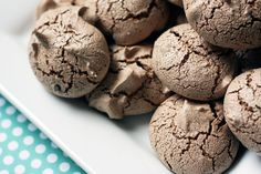 Chocolate Meringue Cookies, I've tried to make these but can't