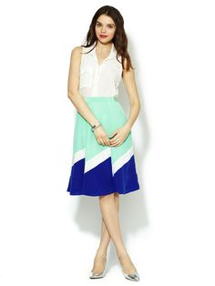 Yumi Kim Chloe Silk Skirt