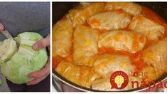 200-rokov starý recept na zemplínske svadobné holúbky: Kuchársky klenot našich prababičiek! Eastern European Recipes, Sauerkraut, Shrimp, Cabbage, Food And Drink, Tasty, Meat, Dinner, Cooking