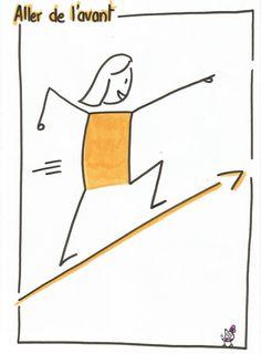 Visualisez vos objectifs : aller de l'avant! http://julieboiveau.wordpress.com/