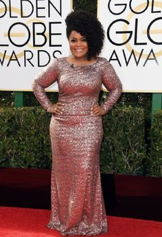 Yvette Nicole Brown at an event for The 74th Golden Globe Awards (2017)
