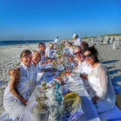 White Dinner Kampen-Sylt-Sommer-freie Journalistin Sylt-Sylt und der Norden-Bloggerin Sylt-Autorin Sylt-PR-Beratung Sylt