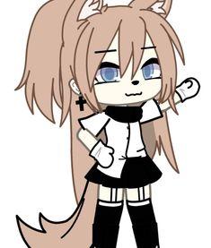 Demon Aesthetic, Aesthetic Anime, Anime Oc, Anime Chibi, Anime Girl Drawings, Cute Drawings, Anime Wolf Girl, Fantasy Art Landscapes, Epic Art