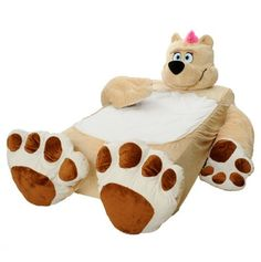 Honey Bear Twin Bed Cover for Kids.