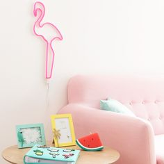 Flamingo thème canape assiettes x 12-vraiment flamingo gamme