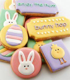 Easter Decorated Cookies #easter #eastercookies #decorated cookies