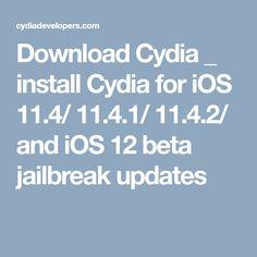 22 Best cydia download images in 2018   Ios 11, Door latches, Ios