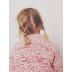 Back from School #babaà JumperNo.15 Flame #wool #alpaca #natural #autumn #AW14 #madeinspain