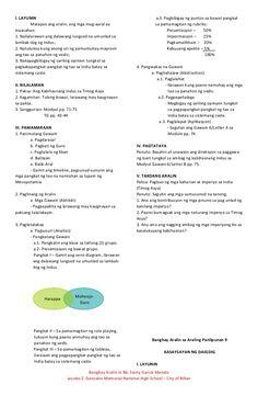 Banghay aralin sa araling panlipunan 9 Lesson Plan Format, Lesson Plan Examples, Daily Lesson Plan, Teacher Lesson Plans, Lesson Plan In Filipino, Creative Bulletin Boards, Life Hacks For School, Math Lessons, Learn English