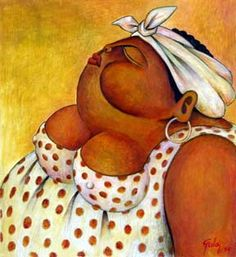 La Mulata - 2005 Alberto Godoy cuban artist cuba habana online paint art gallery painting houston fine art miami florida paintings