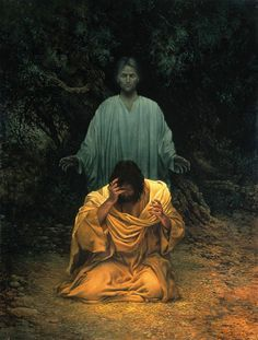 stephen sawyer he went away to pray painting - Google Search