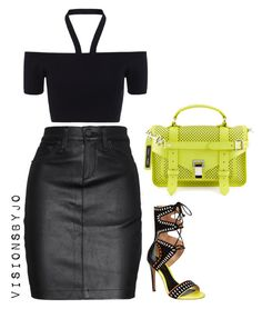"""""""Untitled #1579"""" by visionsbyjo on Polyvore featuring Whistles, rag & bone/JEAN, Carvela Kurt Geiger and Proenza Schouler"""