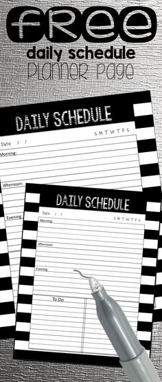 These three daily schedule designs come from my collection of binders and planners for counselors, teachers, and specialists.  I truly appreciate your feedback and suggestions for helpful additions to the planners.