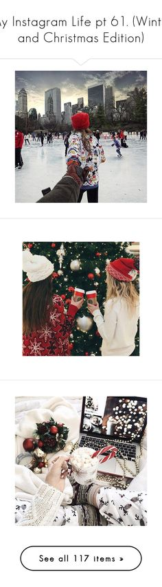 """""""My Instagram Life pt 61. (Winter and Christmas Edition)"""" by anninha23 ❤ liked on Polyvore featuring pictures, instagram, home, home decor, holiday decorations, christmas holiday decor, xmas signs, christmas holiday decorations, christmas home decor and christmas signs"""