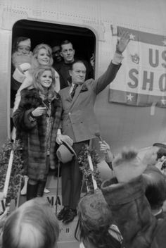 Bob Hope and Ann Margaret USO shows vietnam