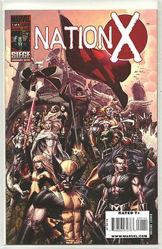 NATION X Great 4-part Modern Age SERIES from Marvel! ~NM~ http://r.ebay.com/BnhgGX