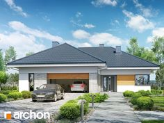 Dom w turkusach Home Fashion, Modern House Design, Home Projects, House Plans, Pergola, Cottage, How To Plan, House Styles, Outdoor Decor