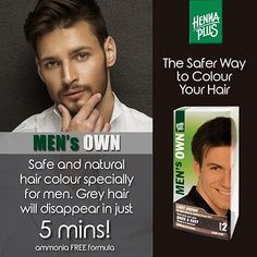 State-of-the-art colour technology without ammonia, enriched with the finest botanical herbs and extracts Superior natural care & shine, with hair strengthening effect, brings back the natural… Organic Hair Care, Natural Hair Care, Natural Hair Styles, Grey Hair Men, Beard Wax, Beard Colour, Just For Men, Color Your Hair, Shampoo And Conditioner