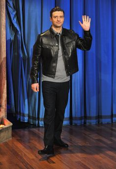 Justin Timberlake on Late Night With Jimmy Fallon last night. Get the pictures and details here!
