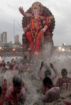 Ganesh celebrations in India 29th Aug, today - Birthday Celebrations!