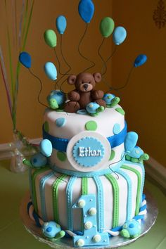 22 Birthday Cake Designs for Baby Boy | Cake Design And Decorating Ideas
