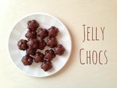Slimming World sweets - jelly chocolates!  So easy and SO good :)