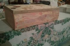 Wooden box Wooden Boxes, Decorative Boxes, Table, Furniture, Home Decor, Wood Boxes, Wood Crates, Decoration Home, Room Decor