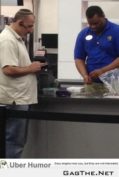 This guy paid for his iPad Mini entirely in quarters. The cashier was standing there for 15 minutes counting.