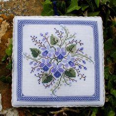 Violetta From Renato Parolin - Cross Stitch Charts - Cross Stitch Charts - Casa Cenina