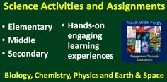Science Activities & Assignments - Hands-on, engaging learning experiences for ALL GRADES