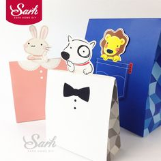 10pcs/lot Pink Blue White Animal Dog Rabbit and Lion Chocolate Nougat Candy Gift Cake Boxes Baking Decoration Package-in Gift Bags & Wrapping Supplies from Home & Garden on Aliexpress.com   Alibaba Group