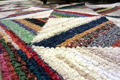 Locker hook rug Love it!