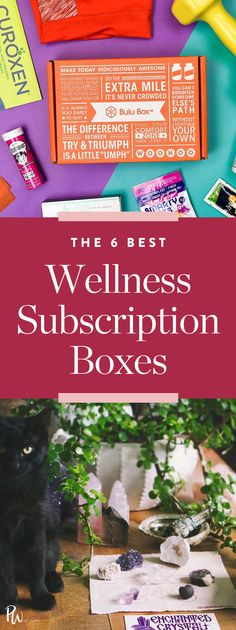 Here are our 6 favorite wellness subscription boxes to gift this year. #holidaygifts #wellness #subscriptionboxes #holidaygifts #giftguide #giftideas #giftguide