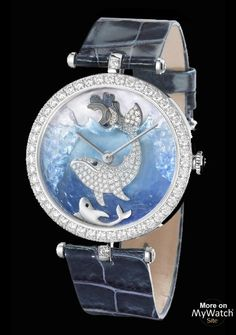 AntarcticaTo continue the journey, Van Cleef & Arpels has chosen to write a supplementary chapter of the Jules Verne novel. The African adventure is comp. Amazing Watches, Beautiful Watches, Cool Watches, Unique Watches, Women's Watches, Patek Philippe, Cartier, Latest Women Watches, High Jewelry